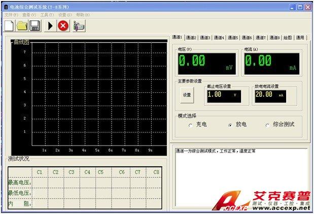 BATE-8电池综合测试仪