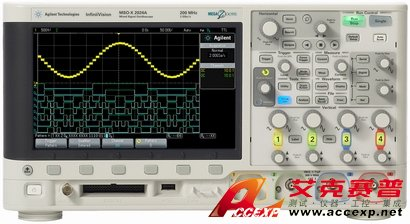 Agilent DSOX2012A示波器图片