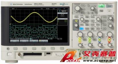Agilent DSOX2024A示波器(200MHz、4通道)价格优惠
