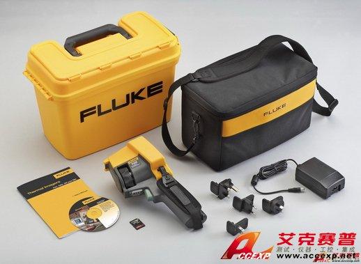 Fluke Ti27 高热灵敏度(NETD≤0.05°C)商业红外热像仪