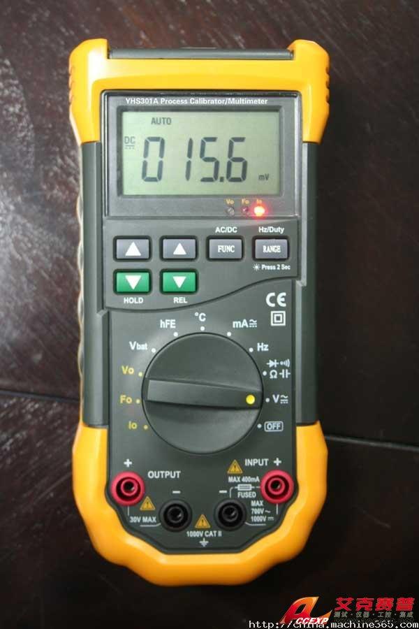 yhs-301a过程校验多用表整机电路设计由大规模专用