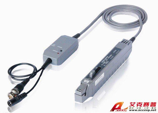 从实际需要出发,使用最多的是电压探头,其中高阻无源电压探头占最大部分。无源电压探头为不同电压范围提供了各种衰减系数1×,10×和100×。在这些无源探头中,10×无源电压探头是最常用的探头。对信号幅度是1V峰峰值或更低的应用,1×探头可能要比较适合,甚至是必不可少的。在低幅度和中等幅度信号混合(几十毫伏到几十伏)的应用中,可切换1×/10×探头要方便得多。但是,可切换1×/10×探头在本质上是一个产