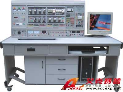 挂箱上装有热继电器,交流接触器380v,按钮指示灯
