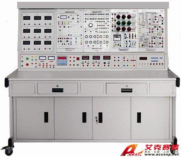 """TSI DG-501C 电工电子电力拖动实验装置是本公司在总结国内电工实验设备基础上采用成熟的技术推出的新型实验装置,综合了目前我国大学本科、专科、中专及职校 """" 电路分析 """" 、 """" 电工基础 """" 、 """" 电工学 """"""""电子学"""" 、 """" 与电机控制 """" 、 """" 继电接触控制 """" 及 """" 电力拖动、PLC控制 """" 等课程实验大纲的要求而研制,"""