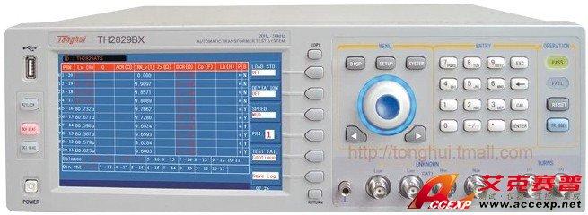 同惠TH2829BX变压器综合测试仪